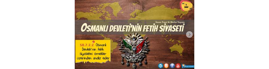 7. Sınıf Sosyal Bilgiler Osmanlı Devleti